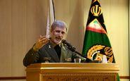 وزیر دفاع و پشتیبانی نیروهای مسلح بیان کرد، لزوم استفاده بهینه از ظرفیت دانشگاه ها در زمینه توسعه تولید ملی