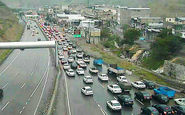 آخرین وضعیت جوی و ترافیکی/ترافیک در 2 آزاد راه اصلی