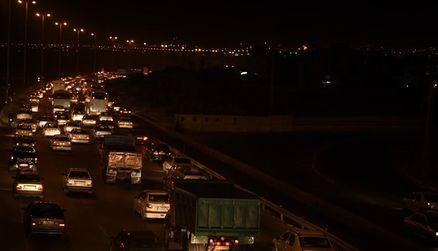 ترافیک پر حجم در محور تهران-مشهد