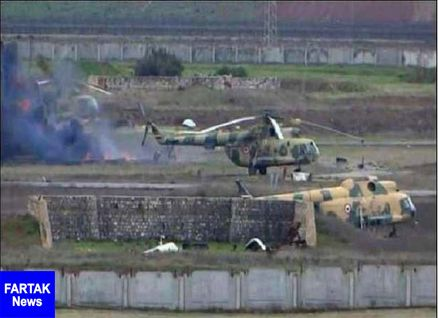 ورود نیروهای روس به فرودگاه ابوالظهور سوریه
