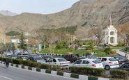 ترافیک صبحگاهی در جاده چالوس/ وضعیت آزادراه تهران-کرج