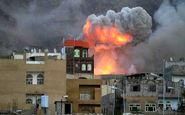 حمله ائتلاف تحت امر عربستان به کاخ ریاست جمهوری صنعا