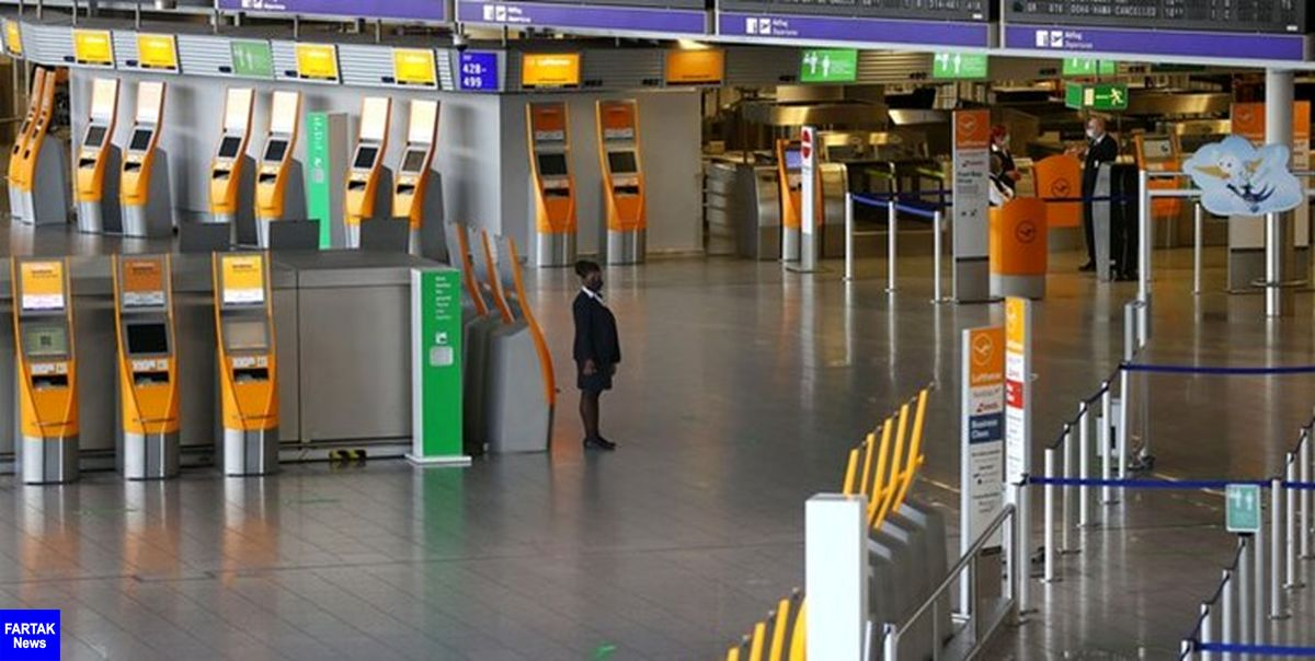 تخلیه فرودگاه بین المللی فرانکفورت به دنبال مشاهده یک فرد مسلح