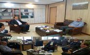 دیدار معاون عمرانی استاندار ومدیرکل جهاد کشاورزی با معاون وزیر جهاد کشاورزی