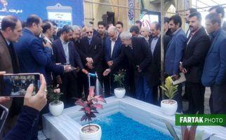 گزارش تصویری|حضور علی لاریجانی رییس مجلس شورای اسلامی و رضا اردکانیان وزیر نیرو در کرمانشاه
