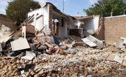 تخریب یک واحد منزل مسکونی در قروه بر اثر نشت گاز