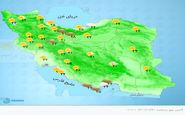 هواشناسی ایران، امروز ۱۴۰۰/۰۶/۳۰