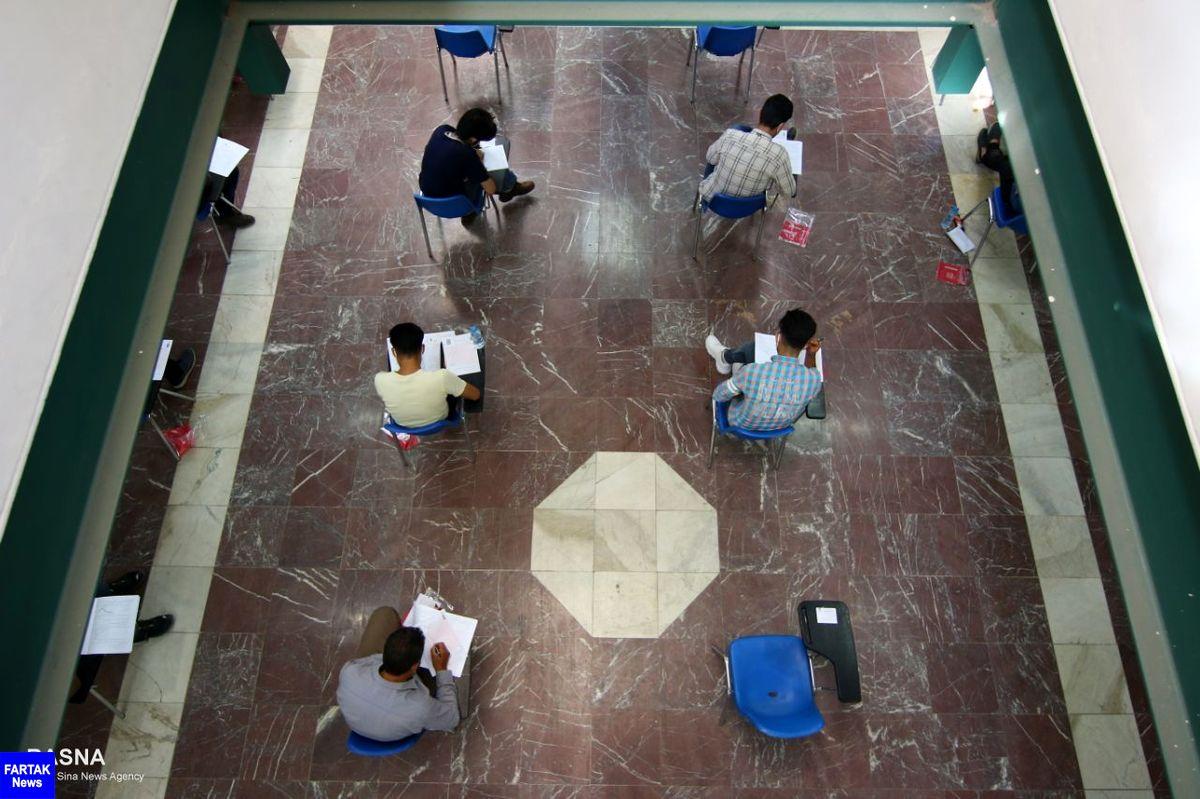 بیست و پنجمین آزمون المپیاد علمی کشور آغاز شد