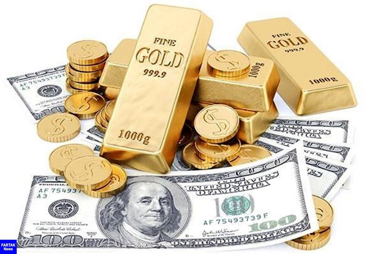 قیمت طلا، قیمت دلار، قیمت سکه و قیمت ارز امروز ۹۹/۰۴/۱۴| آخرین قیمتها در بازار طلا و ارز