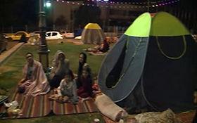 وضعیت مردم سیرچ کرمان پس از زمین لرزه 5.8 ریشتری + فیلم