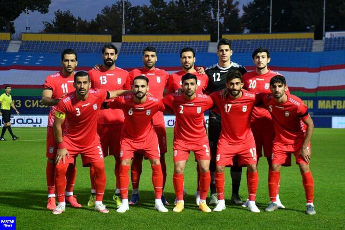 زمان و مکان بازی ایران و بوسنی مشخص شد