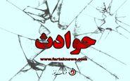 تصادف مرگبار آمبولانس با نیسان آبی در کرمانشاه+عکس