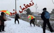 در روز سه شنبه، بارش شدید برف و کولاک برخی از مدارس آذربایجان شرقی را تعطیل کرد