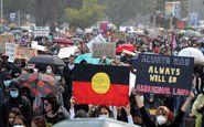 تظاهرات هزاران معترض به نژاد پرستی در استرالیا