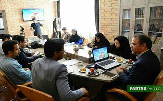 نشست خبری قائم مقام موسسه آموزش عالی جهاددانشگاهی کرمانشاه با اصحاب رسانه به روایت تصویر