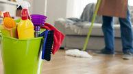 مراقب عوارض مواد شوینده در خانه تکانی باشید