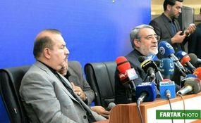 گزارش تصویری بازگشایی مرز خسروی با حضور  وزرای ایران و عراق