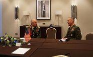 دیدار روسای ستاد کل نیروهای مسلح ترکیه و آمریکا