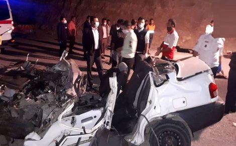 مرگ تلخ 5 مسافر خوزستانی در مسیر گچساران