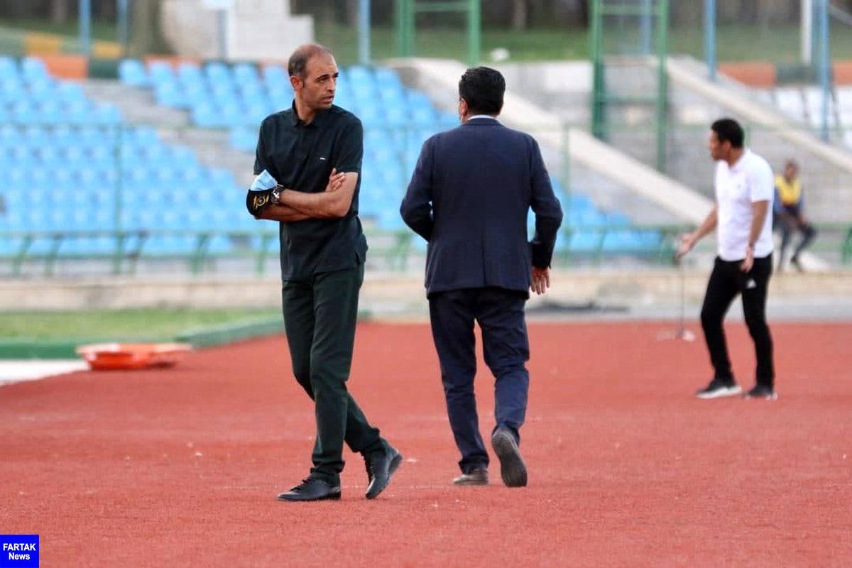 محرم تمرینات سپاهان را به تهران منتقل کرد