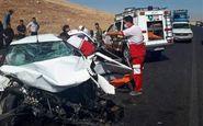 ۳کشته در تصادف پژو ۴۰۵ با اسکانیا
