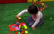 ایجاد فضایی برای سرگرمی و تقویت هوش کودکان در نمایشگاه اسباب بازی+فیلم