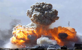 اولین ویدئو از انفجار در شرق بغداد