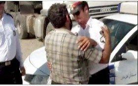 پلیس فداکار از یک فاجعه انسانی جلوگیری کرد