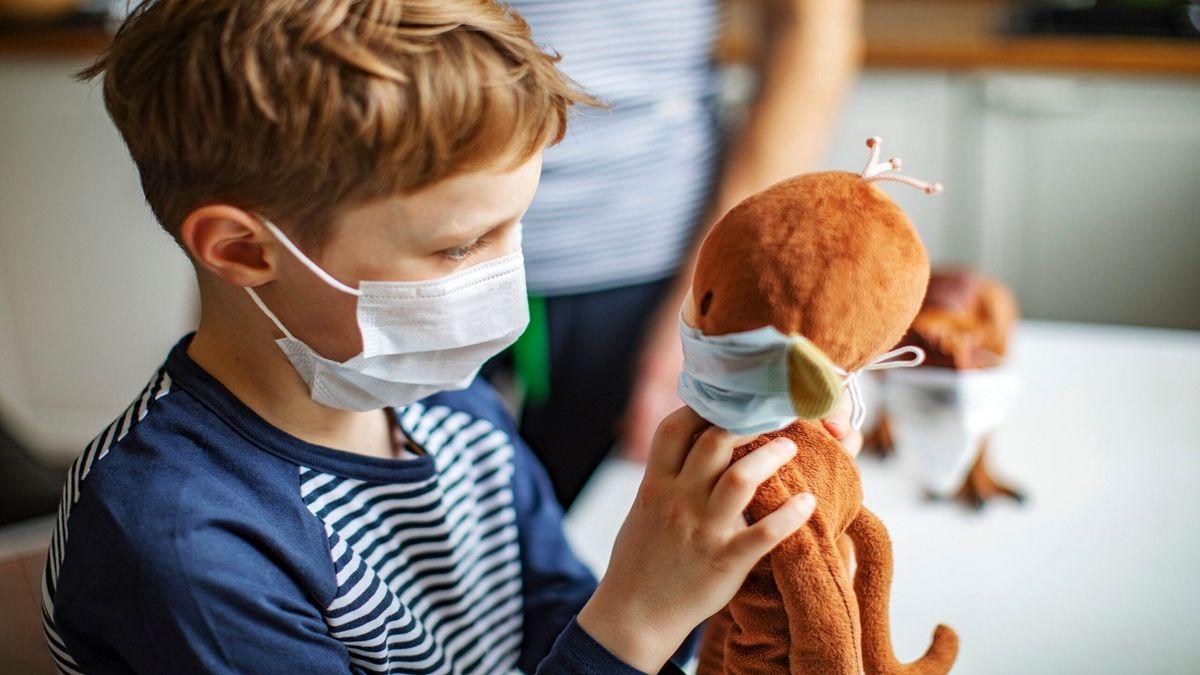 استفاده از ماسک در کودکان به روشی صحیح