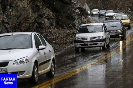 احتمال ریزش سنگ در محورهای کوهستانی مازندران