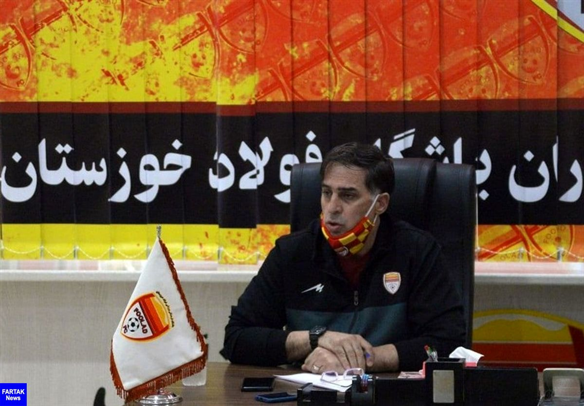 آذری به عدم پخش دیدار فولاد معترض شد