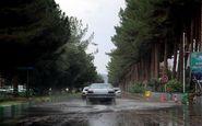 بارش باران و برف در جادههای 14 استان