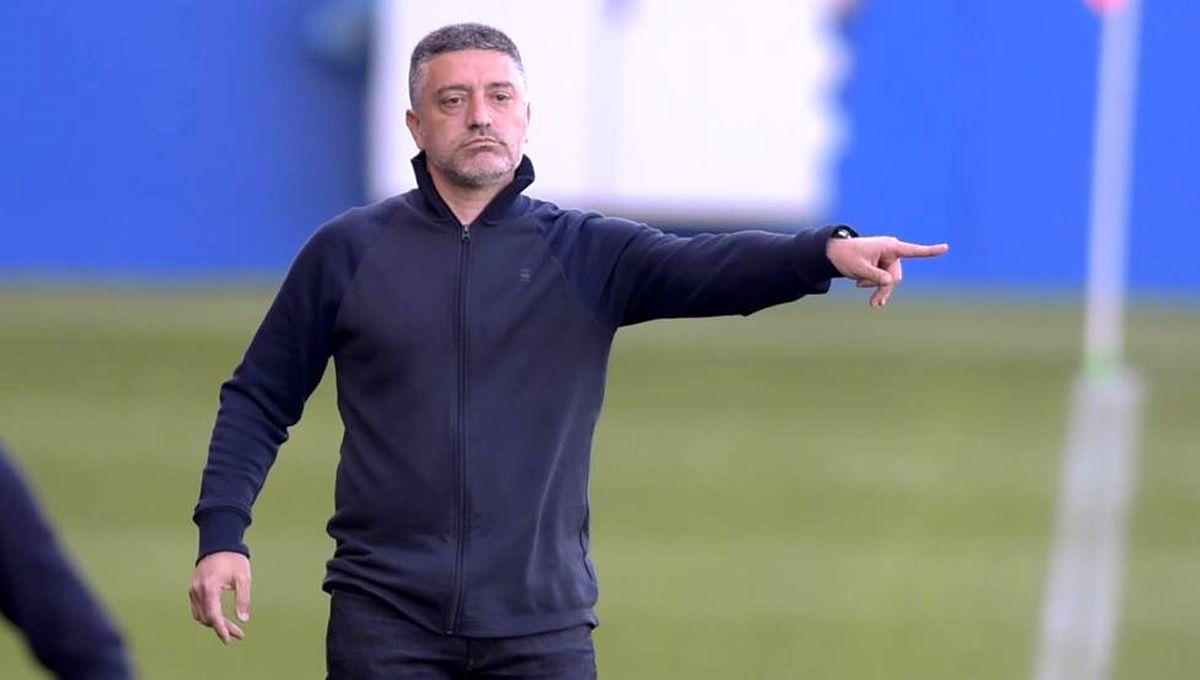 مربی تیم دوم بارسلونا از سمت خود برکنار شد