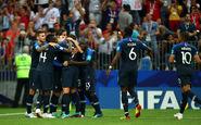 جام جهانی 2018 | ستاره دوم روی پیراهن فرانسه نقش بست