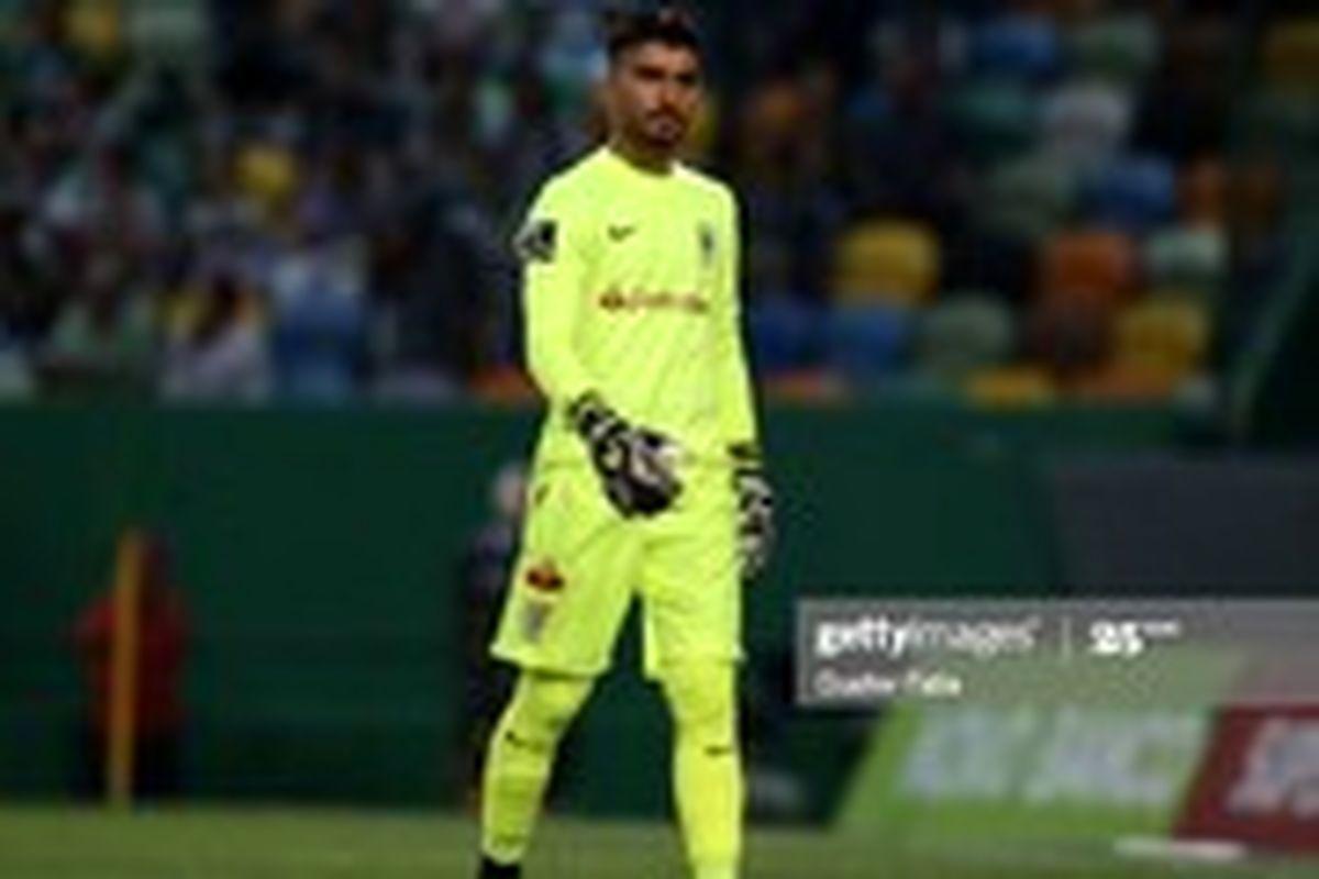 عابدزاده بهترین دروازهبان لیگ پرتغال شد