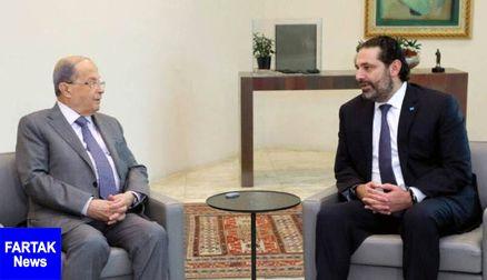 دیدار نخست وزیر و رئیس جمهوری لبنان برای رایزنی درباره تشکیل دولت