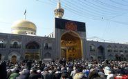کاروان پیاده 1000 نفری ملل اسلامی به حرم مطهر رضوی مشرف شدند