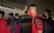 پرسپولیس با پرواز اختصاصی در اهواز + عکس