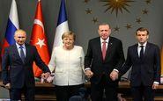 نشست سران ترکیه، روسیه، آلمان و فرانسه برای بررسی اوضاع ادلب