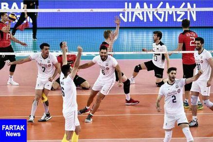 پخش بازیهای تیم ملی والیبال ایران در برنامه «توپ و تور»