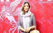 تیپ متفاوت نیکی مظفری دیشب در جشنواره فیلم فجر