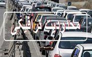 اعمال محدودیتهای جدید ترافیکی در تقاطع غیرهمسطح رسالت - آیتالله حیدری
