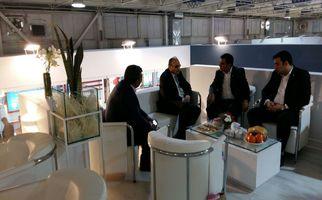 نشست مدیرعامل شرکت گردشگری و سفر سلامت آلامتو و مدیرکل هتل پارسیان کرمانشاه با مدیرکل هتل پارسیان