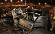 تصادف وحشتناک 2 پژو در زنجان