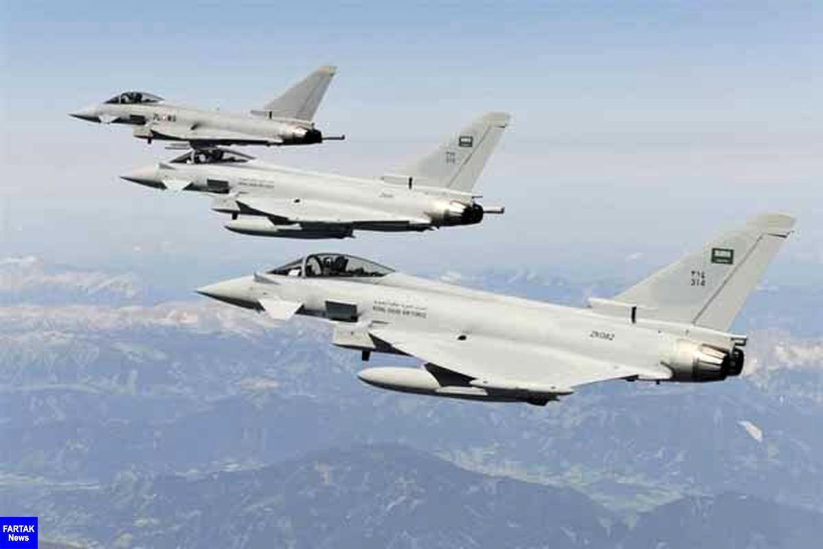 بمباران «الحدیده» یمن توسط جنگنده های رژیم سعودی