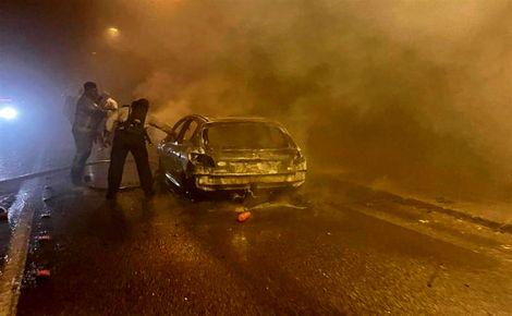 2 کشته و مصدوم در اثر حادثه تونل درهشهر ایلام