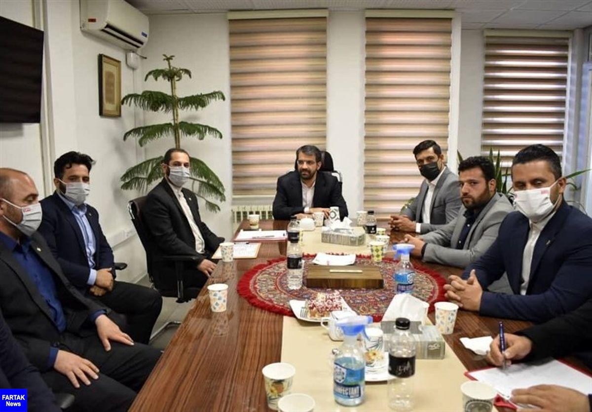 جلسه کمیته حقوقی باشگاه پرسپولیس برگزار شد