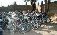 ترخیص بیش از 1700 دستگاه موتورسیکلت رسوبی در کرمانشاه