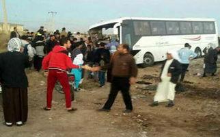صحنه هایی از حادثه دلخراش تصادف دانش آموزان البرزی در سوسنگرد + فیلم