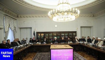 جلسه شورای عالی انقلاب فرهنگی با حضور سران قوا برگزار شد